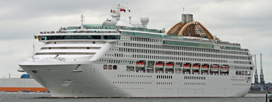 Cruise transfers to and from Southampton, Dover and Harwich cruise port