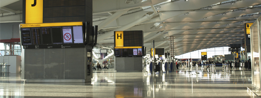 Airport taxi, airport shuttle to and from Heathrow airport